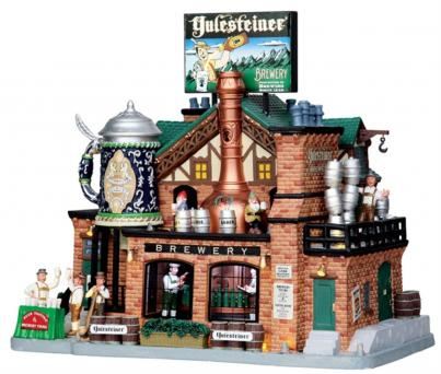 Lemax Caddington Village Yulesteiner Brewery