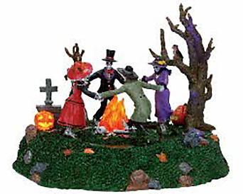 Lemax Spooky Town Skeleton Jamboree