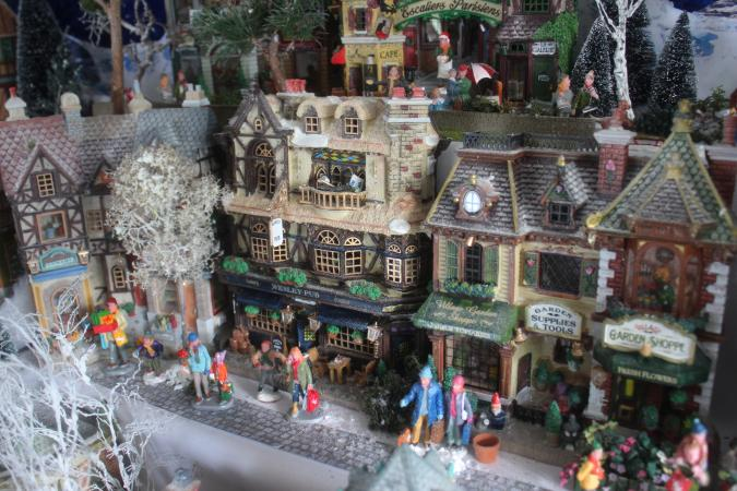 Christmas village collectibles