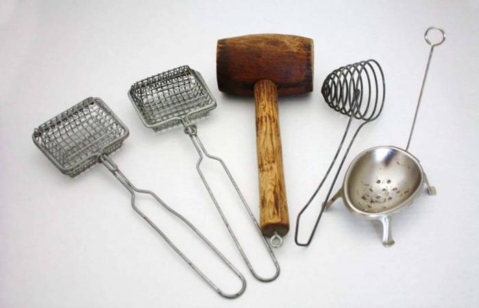Antique Kitchen Utensils Soap Savers