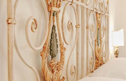 Ornate bed head