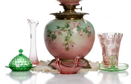 Depression glass from the 1930's