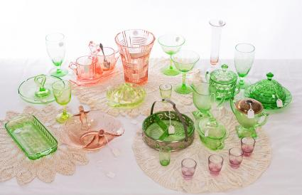 Depression Glass Collection