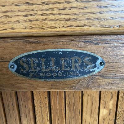 Antique Sellers Hoosier Cabinet