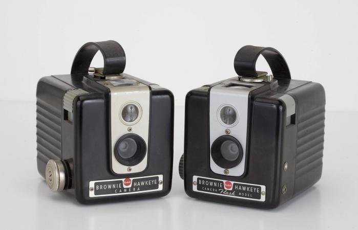 Kodak Brownie Hawkeye roll film