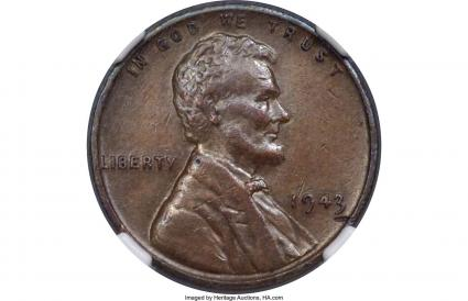 1943 Cooper Penny