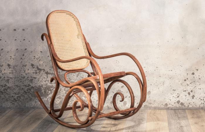 Vintage antique rocking chair