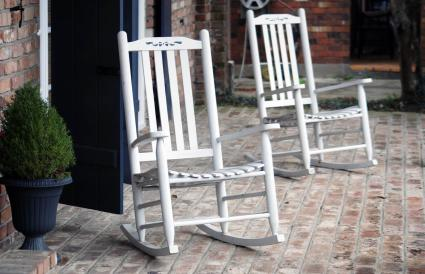 Two rocking chairs