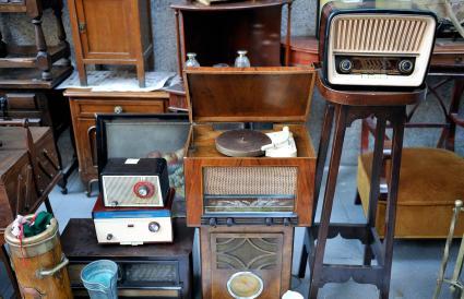 Estate sale and radio equipment