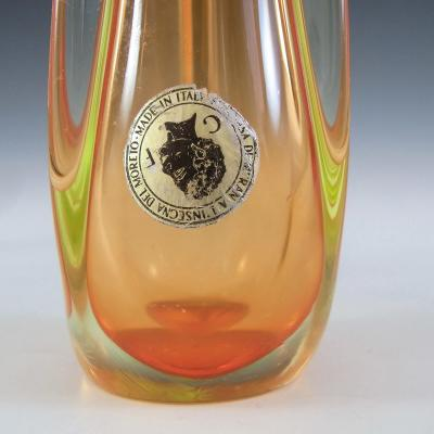 Galliano Ferro Murano Glass Vase