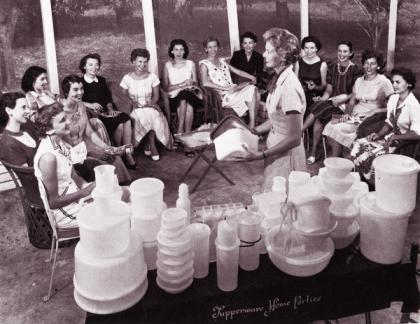 Tupperware home party in Sarasota, Florida