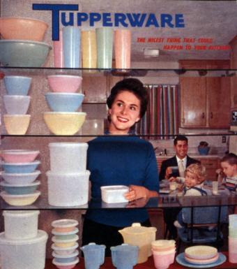Tupperware advertisement