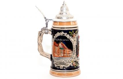 Vintage German beer stein