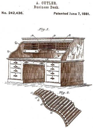 Cutler & Son 1881 Patent