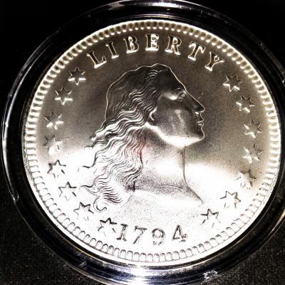 Silver Dollar 1794