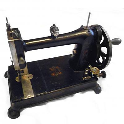 A rare Davis domestic sewing machine