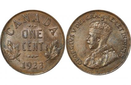 1923 Small 1-Cent