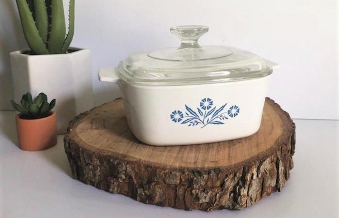 Corningware Blue Cornflower