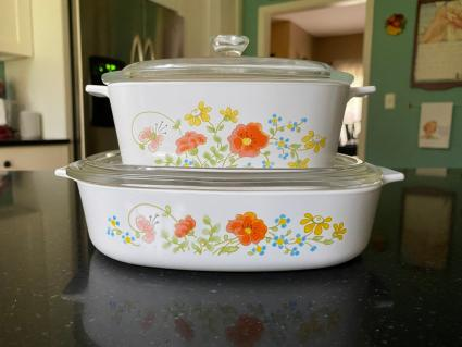 CorningWare Wild Flower