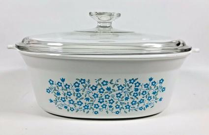 CorningWare Blue Heather