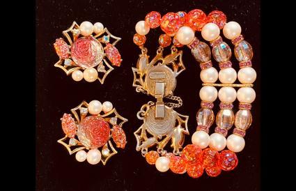 Schiaparelli Bracelet and Earrings