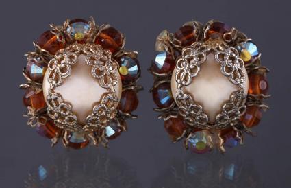 Vintage hobe earrings