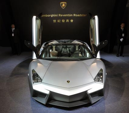 Lamborghini latest Reventon Roadster
