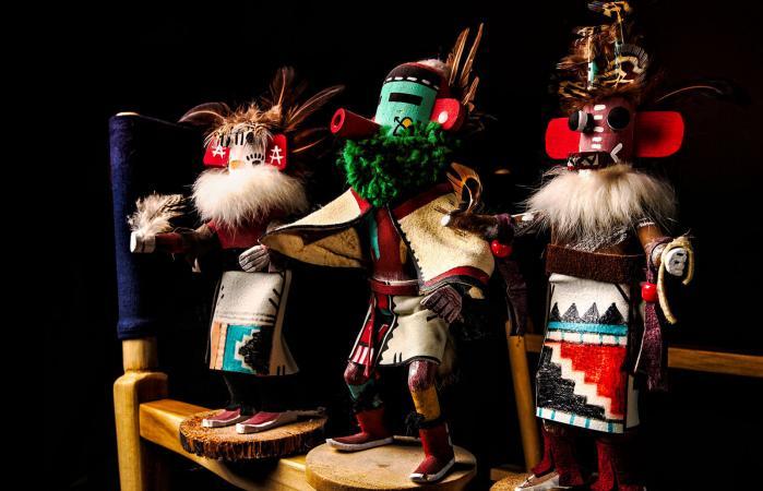 various Kachina Dolls