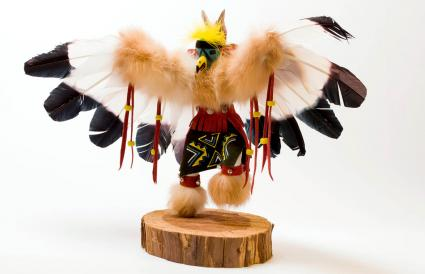 Eagle kachina doll
