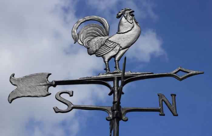 Antique style weathervane
