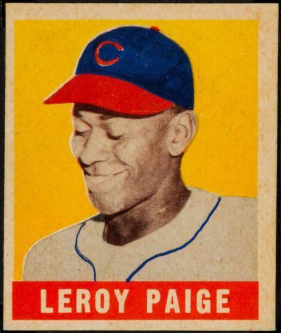 1948 Leaf Satchel Paige #8