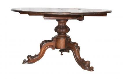 Antique Walnut Drop Leaf Table