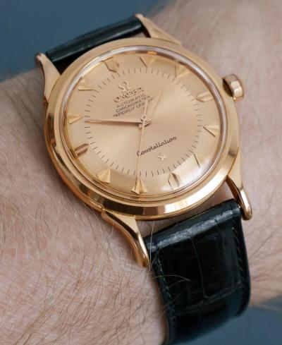 Omega Constellation Rotgold 1958