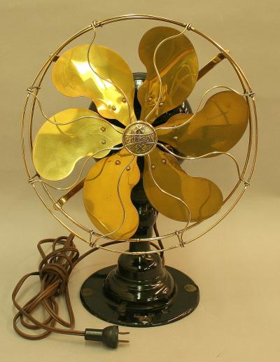 Electric Oscillating Table Fan by Emerson