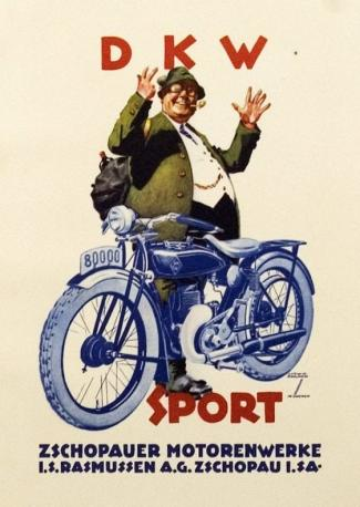 Ludwig Hohlwein DKW Sport