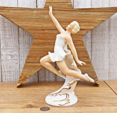 Schaubach Kunst Girl Jumping Figurine