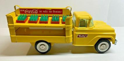 1960's Buddy L Coca-Cola Delivery Truck