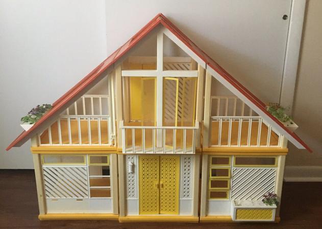 Barbie's A-Frame Dream House