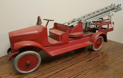 Buddy L 1920s Ladder Fire Truck