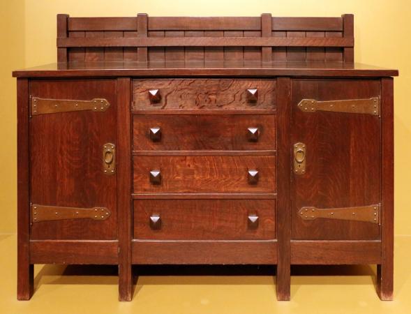 Gustav stickley per craftsman workshop