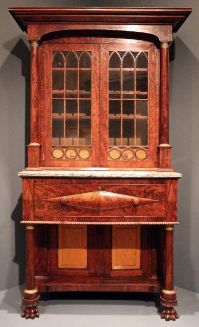 American Empire Bookcase