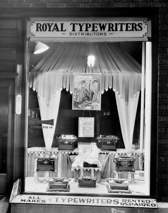 Brewington Typewriter Company featuring Royal Typewriters