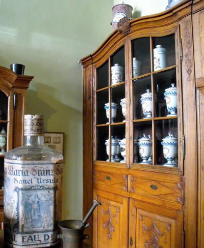 Antique china hutch