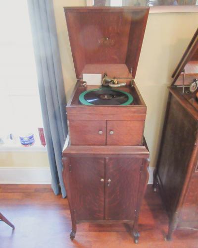 Antique Phonograph Display - Victrola