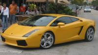 Yellow Super Car