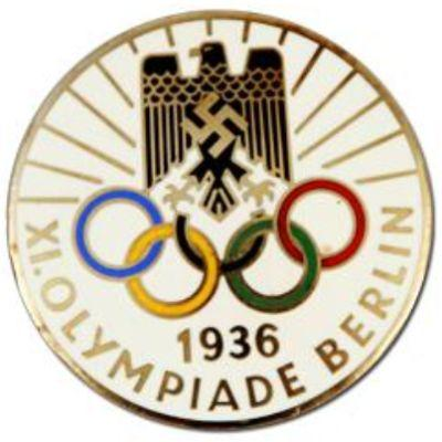 antiques 1936 olympics pins lovetoknow. Black Bedroom Furniture Sets. Home Design Ideas