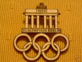 Antiques 1936 Olympics Pins | LoveToKnow