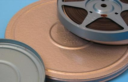 old movie film reels
