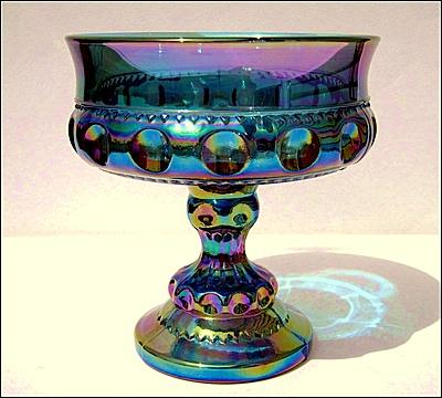 Carnival Red Glass Goblets
