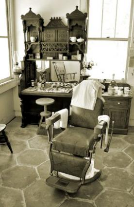antique barber shop